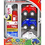 Silli Me: Fire And Rescue Assembly Vehicles And Blocks Play Set