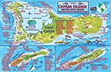 img - for Cayman Islands Dive Map & Reef Creatures Guide Franko Maps Laminated Fish Card book / textbook / text book