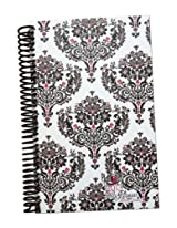 2015 Calendar Year bloom Daily Day Planner Fashion Organizer Agenda January 2015 Through December 2015 Red Quatrefoil