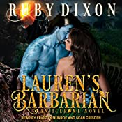 Lauren's Barbarian: A SciFi Alien Romance: Icehome Series, Book 1 | [Ruby Dixon]