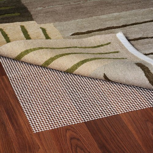 Ultra Stop Natural Rubber Non-Slip Indoor Rug Pad, Size: 4' x 6' Rug Pad