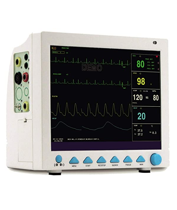 CONTEC Veterinary Patient Monitor Multi-Parameters Vital Signs Animal Care with CO2 Function