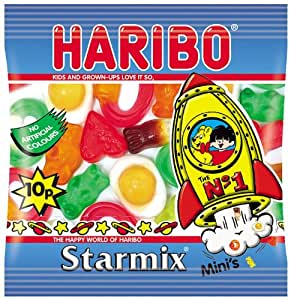 Haribo Starmix Mini Bag 20 g (Pack of 100): Amazon.com: Grocery