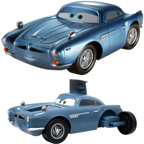 Cars 2 Spy Attack Finn Mcmissile: Amazon.com: Cars 2 Spy Shifters Transforming Submarine