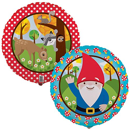 Woodland Gnome Foil Balloon