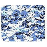 Generic Personalized Camouflage Camo Navy Uniform Style for Rectangle Mouse Pad