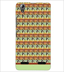 PrintDhaba Pattern D-1568 Back Case Cover for LENOVO A6000 (Multi-Coloured)