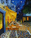 Art Reproduction Oil Painting - Cafe Terrace at Night - Classic 20
