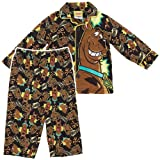 Scooby Doo Yikes Coat-Style Pajamas for Todder Boys