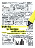 9780132930192: Statistics for Business and Economics Plus MyStatLab -- Access Card Package (8th Edition)