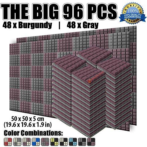 super-dash-96-pieces-de-50-x-50-x-5-cm-insonorisation-hemisphere-champignon-acoustique-disolation-tr