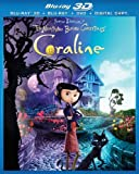 Coraline 3D Blu-Ray