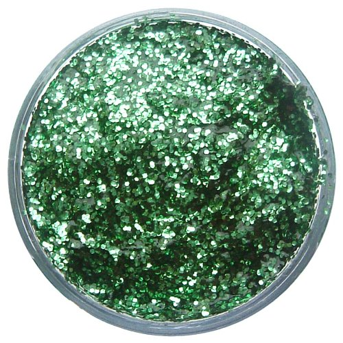 Snazaroo Face and Body Paint, Glitter Gel, 12ml, Bright Green