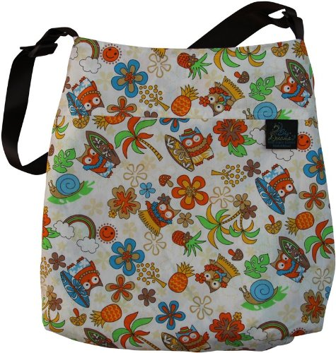 Sky Dreams Travel Blanket Arianna Hula Owl Orange Handbag Multicolored front-723891