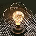 Table Desk Lamp - Atomic Age Led Metal Accent Light by TRADE CIE, LLC