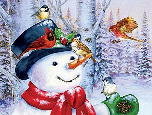 Sweet Snowman Jigsaw Puzzle - 500 Pc
