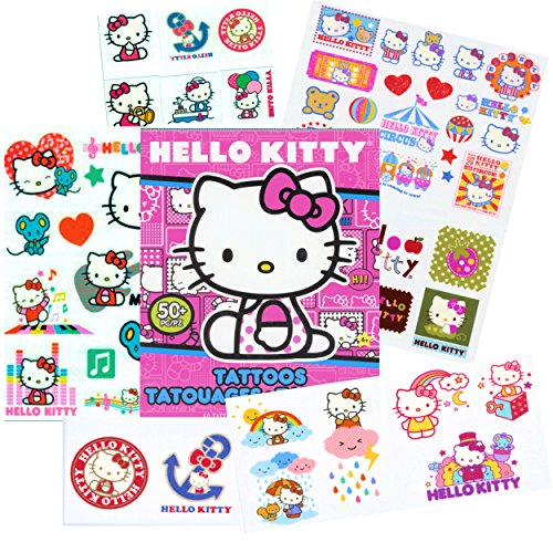 Sanrio-50-Temporary-Tattoos-Hello-Kitty