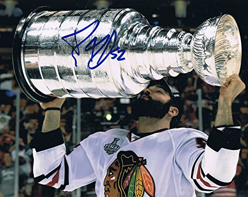 Brandon Bollig Signed 8x10 Chicago Blackhawks Stanley Cup Champion Photo COA