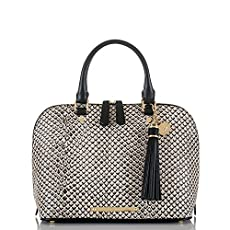 Vivian Dome Satchel<br>Black Java