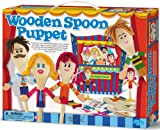 4M Wooden Spoon Puppet Theatre Kit