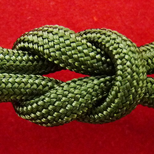 Paracord - Guaranteed MilSpec C-5040H Compliant, 8-Strand, Type III, Military Survival 550 Parachute Cord. Made in the U.S. from 100% Nylon, 5/32 in Diameter. Includes FREE EBook: We Love MilSpec Paracord and So Will You! and Your Own Copy of MIL-C-50 oumily 7 core survival parachute cord paracord dark brown 30m 140kg