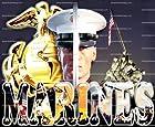 1/4 ~ Military Marines Birthday ~ Edible Image Cake/Cupcake Topper!!!