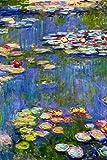 Claude Monet Water Lilies Poster 12x18