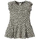 Bardot Junior Baby-Girls Infant Leopard Pleat Dress, Leopard, 9-12 Months