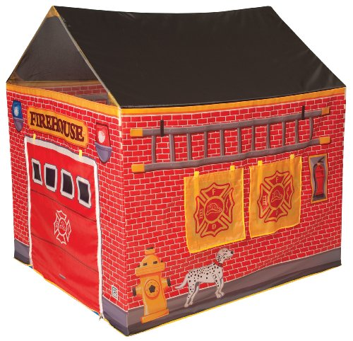 Fire Station House Tent front-1003517