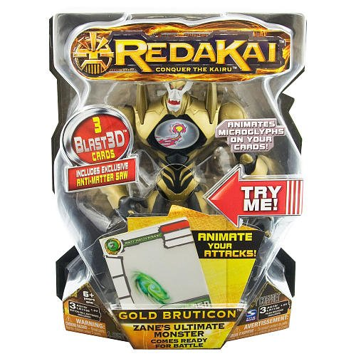 Redakai - Deluxe Figure with Cards - Bruticon - 1