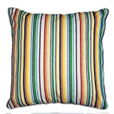 Tamarind Bay 18 in Luxury Tapestry Throw Pillow Cushion Cover with Colorful Beach Pattern - Kristin