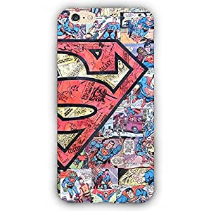 EYP Superheroes Superman Back Cover Case for Apple iPhone 6 Plus