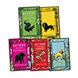 Alexander McCall Smith Alexander McCall Smith Akimbo 5 Books Collection Pack Set RRP: £21.95 (Akimbo and the Crocodile Man, Akimbo and the Baboons, Akimbo and the Elephants, Akimbo and the Lions, AKIMBO AND THE SNAKES)