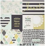 Simple Stories 2069 25 Sheet Elements 1 Simple Sets Heart Double-Sided Cardstock, 12
