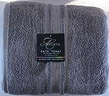 Charisma Luxury Bath Towel - 100% Hygro Cotton, Lavender Grey