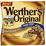 Werther's Original Sugar Free Candies, Caramel Chocolate, 2.35 Ounce (Pack of 12)