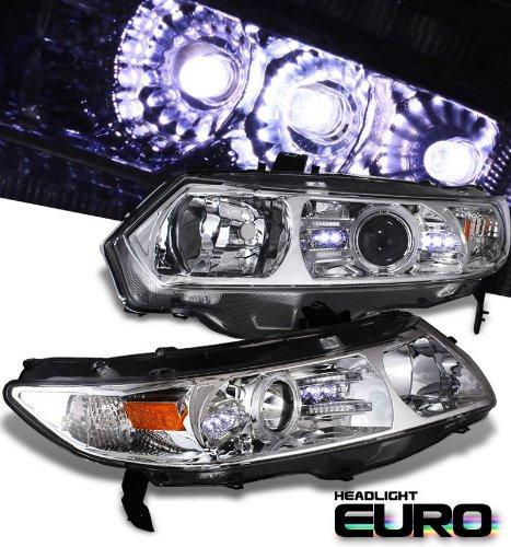 2011 Peterbilt MODEL 348 Side Roof mount spotlight Driver side WITH install kit 6 inch 100W Halogen -Chrome