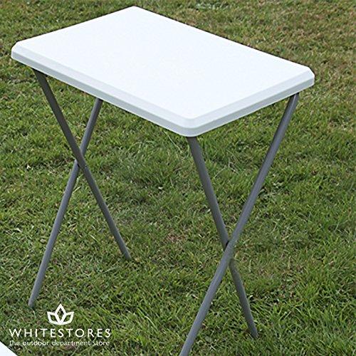 I.V.Swift Gartenmöbel in Grün mit weißem Tischplatte einzelnen Campingtisch Klapptisch/Garten günstig bestellen