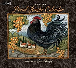 Lang Perfect Timing - Lang 2014 Proud Rooster Wall Calendar, January 2014 - December 2014, 13.375 x 24 Inches (1001721)