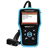 Topdon Car OBD2 Scanner, Plus Professional Car Diagnostic Scanner OBD2 Full Function with DTC Lookup and Free Update (Color: PLUS)