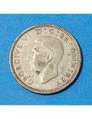 1942 Georgivs Vi Two Shillings - 1942 Georgivs Vi Penny