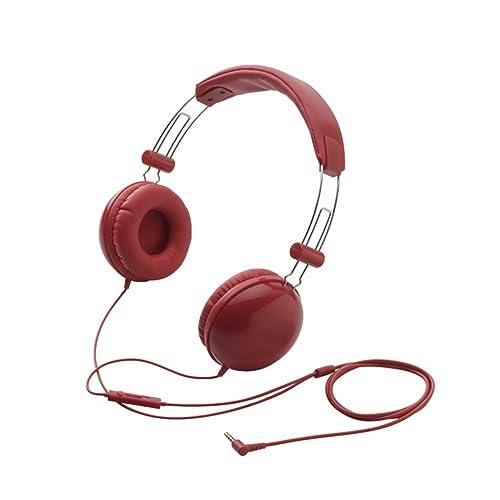 ELECOM EHP-SMOH100 REDの写真01。おしゃれなヘッドホンをおすすめ-HEADMAN(ヘッドマン)-
