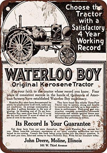 1918-tracteur-john-deere-waterloo-boy-look-vintage-reproduction-plaque-en-metal-305-x-457-cm