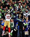 "Richard Sherman Seattle Seahawks 2014 NFC Championship Action Photo (Size: 8"" x 10"") at Amazon.com"