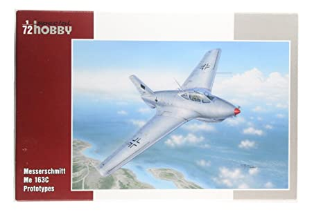 Special Hobby 72258 Me163C Prototypes 1:72 Plastic Kit Maquette