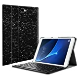 Fintie Keyboard Case for Samsung Galaxy Tab A 10.1(2016 NO S Pen Version),Slim Lightweight Stand Cover w/Magnetically Detachable Wireless Bluetooth Keyboard Compatible with Tab A 10.1, Constellation (Color: Zz-Constellation)
