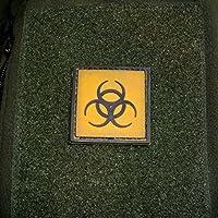 3 D rubber patch tactical biohazard risque de zombi aBC symbole utilisation de détecter les armes airsoft uniform écussons cou army 4 x 4 cm - 16277