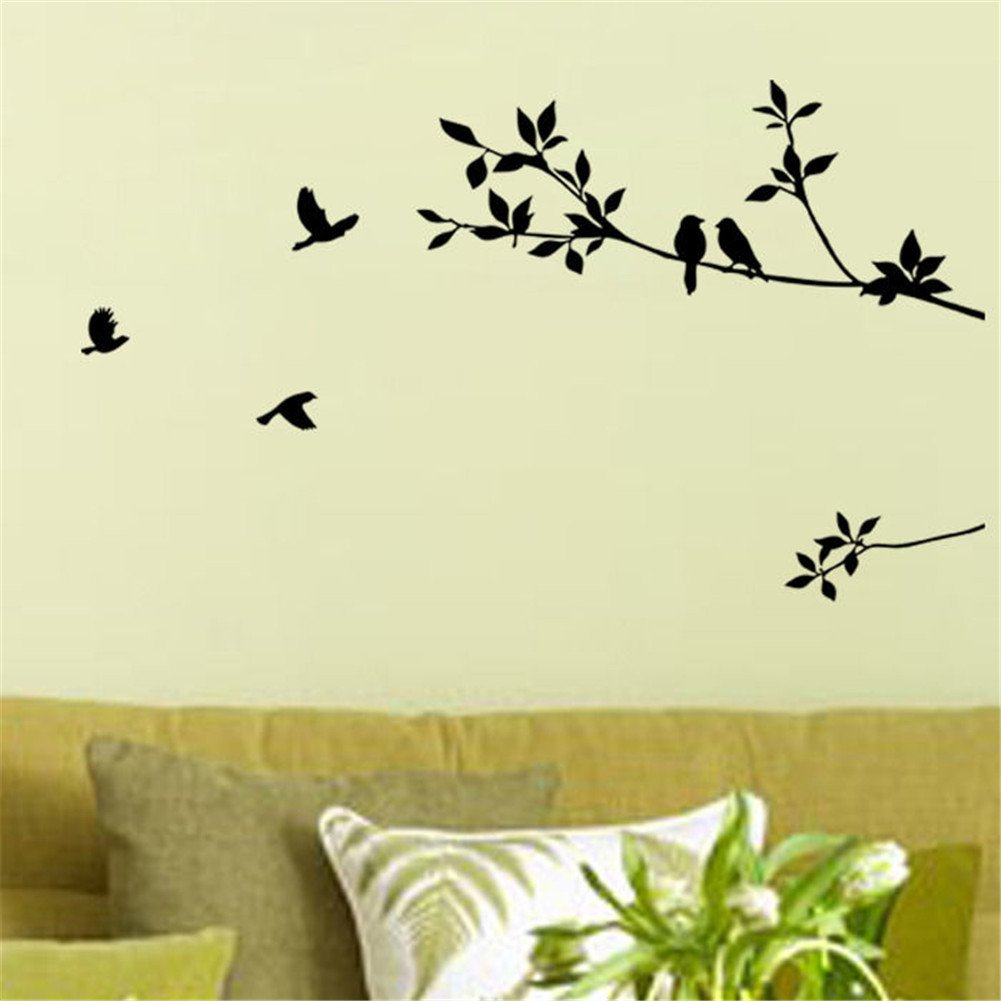 Roommates wall decals tree