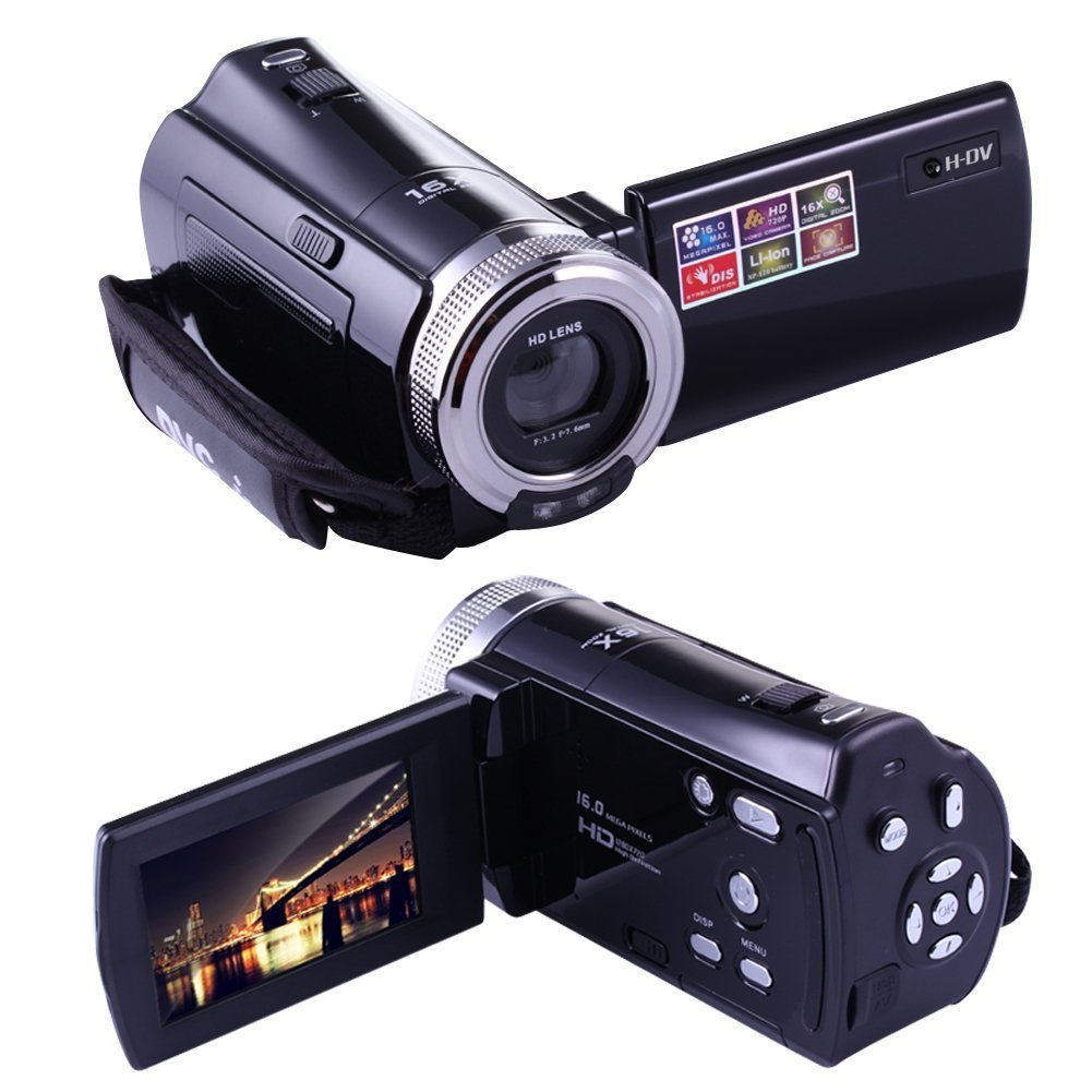 PowerLead Puto PLD003 Mini DV C8 16MP High Definition Digital Video Camcorder DVR 2.7