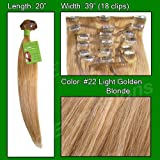 Brybelly Holdings PRRM-20-22 No. 22 Medium Blonde - 20 Inch Remi